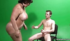 chubby mature married girl with big natural tits