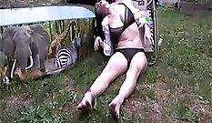 Bareback Burglar drunk orgy