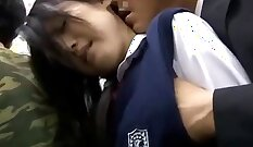 Japanese Schoolgirl Takes Multiple Vibrators-Compilation with Anal