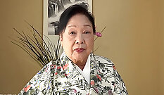 Amateur japanese bj xxx Thank grandma for that ass