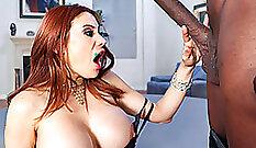 Big Cock Swinging Redhead Babe Suzie Morgan