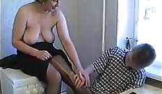 Amateur Russian Mom Filled With Cum - Nina Clay