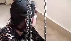 Chinese slave gotd thigh pain