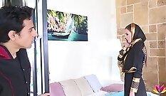 Cheating Housewife Lily Bond - Hard Anal scene