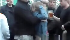 Brunette Esperanza Villegas Fucks The Drunk Guy