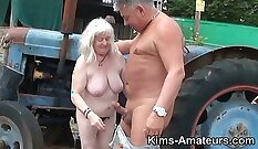 Belladonna Gets Croat Granny Pounded