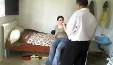 Big Body Arab Ebony Masturbates With Jizz