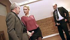 Boss Conrad Hiseli taunting employee Anthony