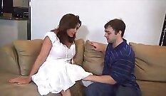 Alan in nylon pantyhose and stocking