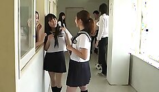 Busty Japanese Schoolgirl Had To Be Punished