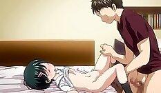 Busty Anime Nurse Needs Some Voltage