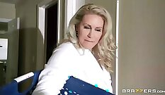 Busty blonde mom cheats on her man - Blondelover