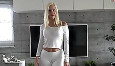 Buttfucked Eva Giving A Head In Latex