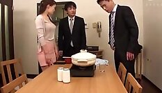 Clothed Japanese Wife Loves To Penetrate Her Husband