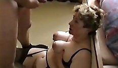 Crazy sex with busty brunette makes you feel at home