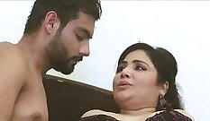 Blonde Indian Mom gets Fucked in all hot holes outside