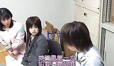 beauteous japanese voyeur having mad chat