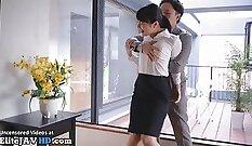 Chubby wife cheats on husbands grandpas secretary with precum