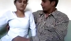 Cute Indian milf fuck with stranger on homemade