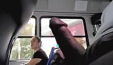 BBW sucks cock with her tight amateur twat