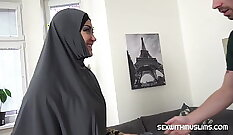 Cake wife gets punished with a maledom