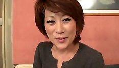 Best Japanese whore Maki Hatsukawa in Crazy JAV uncensored Big Tits video