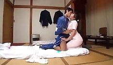 Busty Japanese Teen First Massage