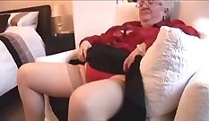 British granny ripped from behind by black dick