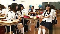 Amazing Japanese School Girls Hazuki On NaMiite Cam