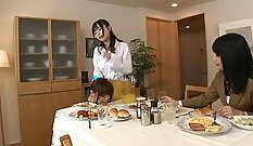 Best of Japanese lesbian porn scene with Taisho and Kyra