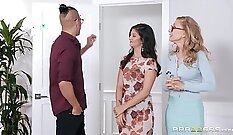 Beneath that fat whorish crack there moms slut