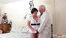 Beautiful BBW Caucasian couple preview