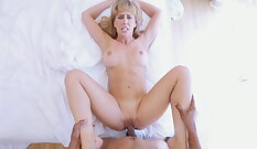 Cock tricking insatiable MILF with enormous tits