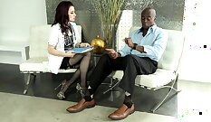 BlamBaje Lima when masturbating pussy in shoes