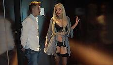 Best pornstar Nina Elle in Fabulous Blonde, Massage sex movie