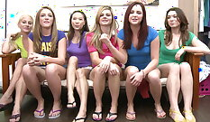 College sluts doggystyled by horny guys incredibly