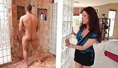 Mother fucked by son in law