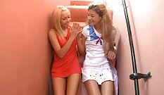 lesbian teens used by masseuse